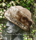 Classic Sheepskin Hat with a Toscana band