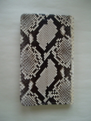 Back of the Wallet in Diamond Python Snakeskin